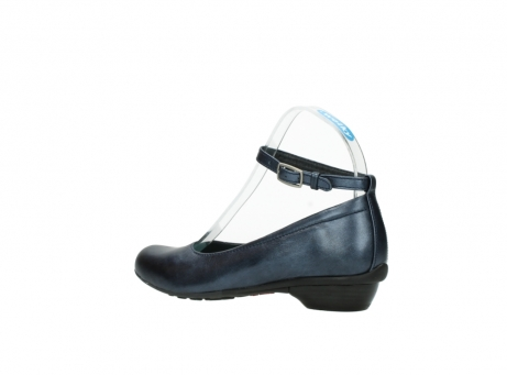 wolky court shoes 07952 monelli 90800 blue metallic leather_3