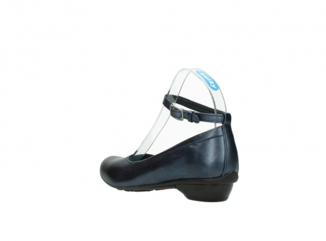 wolky court shoes 07952 monelli 90800 blue metallic leather_4