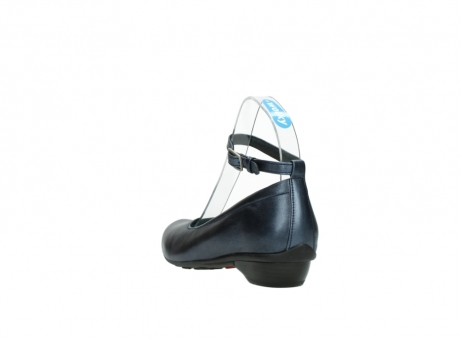 wolky court shoes 07952 monelli 90800 blue metallic leather_5