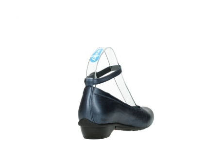 wolky court shoes 07952 monelli 90800 blue metallic leather_9