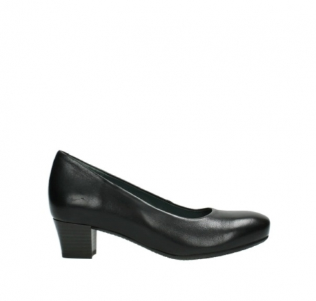 wolky pumps 09991 heathrow 20000 zwart leer
