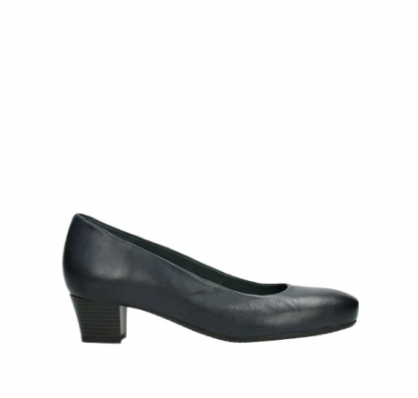 wolky pumps 09991 heathrow 20800 blauw leer