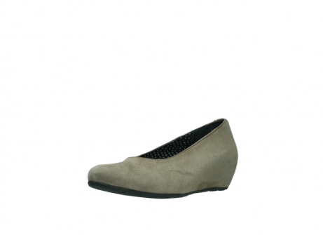 wolky pumps 1910 capella 415 taupe suede_22