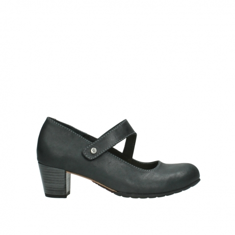 wolky pumps 3754 conga 821 antraciet leer