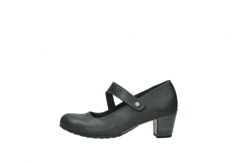 wolky pumps 3754 conga 821 antraciet leer_1