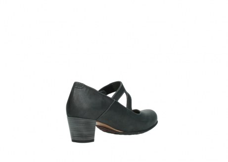 wolky pumps 3754 conga 821 antraciet leer_10