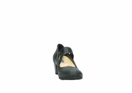 wolky pumps 3754 conga 821 antraciet leer_18