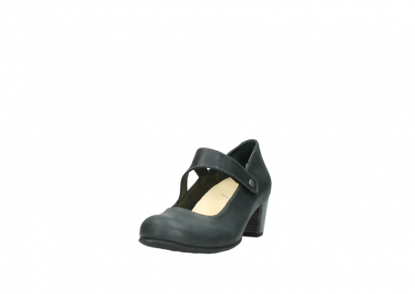 wolky pumps 3754 conga 821 antraciet leer_21