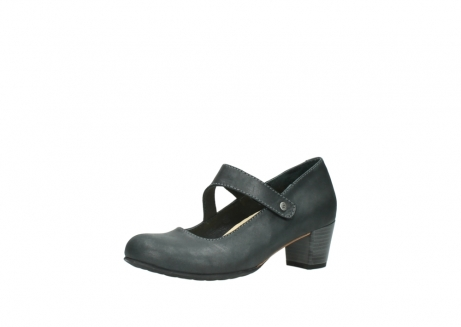 wolky pumps 3754 conga 821 antraciet leer_23