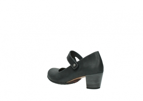 wolky pumps 3754 conga 821 antraciet leer_4