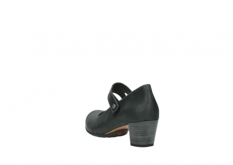 wolky pumps 3754 conga 821 antraciet leer_5