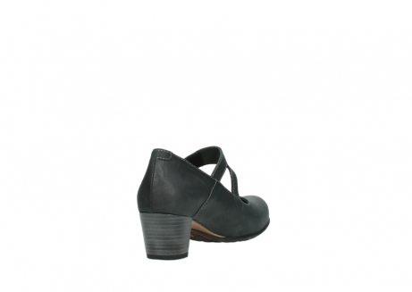 wolky pumps 3754 conga 821 antraciet leer_9