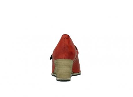 wolky pumps 4655 oliva 553 koraal rood geolied leer_7