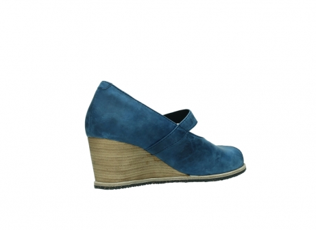 wolky pumps 4655 oliva 582 denim blauw geolied leer_10