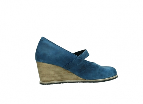 wolky pumps 4655 oliva 582 denim blauw geolied leer_11