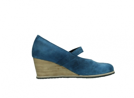 wolky pumps 4655 oliva 582 denim blauw geolied leer_12