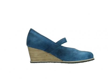 wolky pumps 4655 oliva 582 denim blauw geolied leer_13