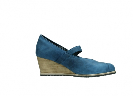 wolky pumps 4655 oliva 582 denim blauw geolied leer_14