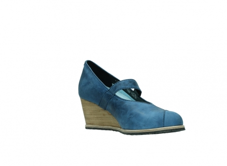 wolky pumps 4655 oliva 582 denim blauw geolied leer_16