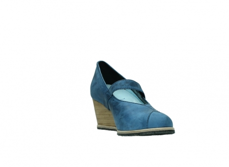 wolky pumps 4655 oliva 582 denim blauw geolied leer_17