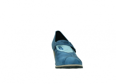 wolky pumps 4655 oliva 582 denim blauw geolied leer_18