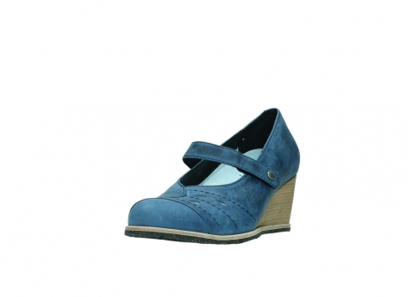 wolky pumps 4655 oliva 582 denim blauw geolied leer_21