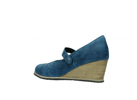 wolky pumps 4655 oliva 582 denim blauw geolied leer_3