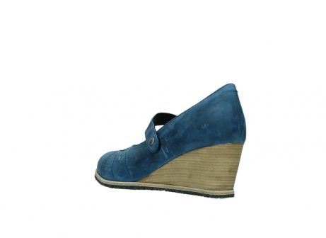 wolky pumps 4655 oliva 582 denim blauw geolied leer_4