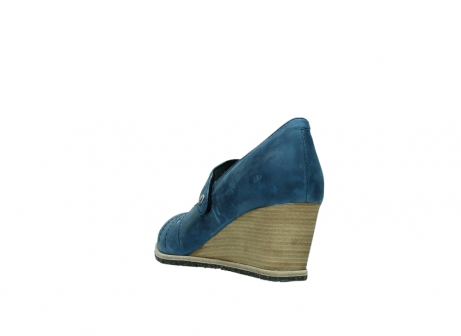 wolky pumps 4655 oliva 582 denim blauw geolied leer_5