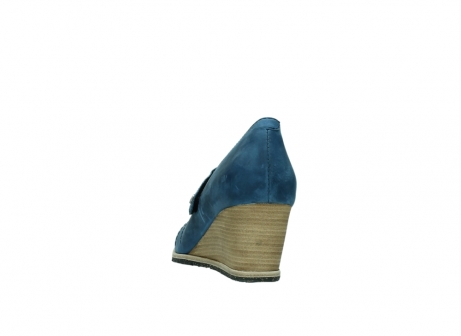 wolky pumps 4655 oliva 582 denim blauw geolied leer_6