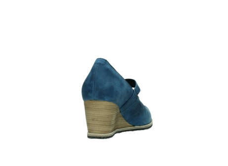 wolky pumps 4655 oliva 582 denim blauw geolied leer_8