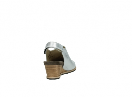 wolky pumps 4661 bond 310 zilver leer_8