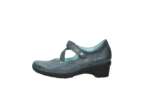 wolky pumps 7657 georgia 880 blau leder_1