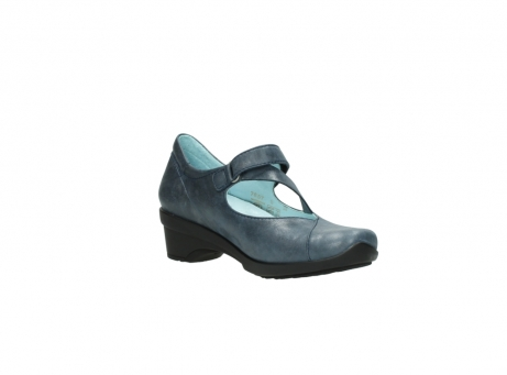 wolky pumps 7657 georgia 880 blau leder_16
