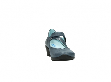 wolky pumps 7657 georgia 880 blau leder_18