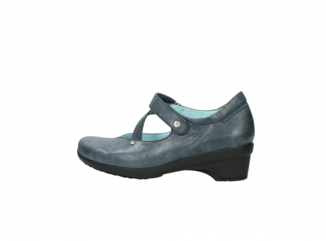 wolky pumps 7657 georgia 880 blau leder_2