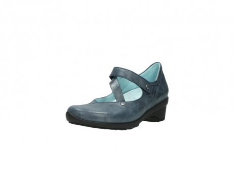 wolky pumps 7657 georgia 880 blau leder_22