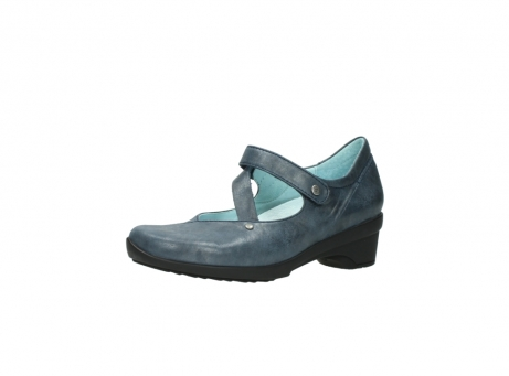 wolky pumps 7657 georgia 880 blau leder_23