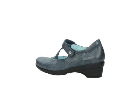 wolky pumps 7657 georgia 880 blau leder_3