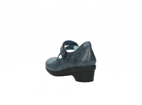 wolky pumps 7657 georgia 880 blau leder_5