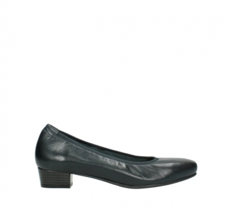wolky pumps 9996 rochester 280 blauw leer
