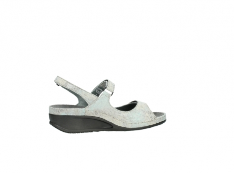 wolky sandalen 00425 shallow 60790 mintgreen caviar print leather_12