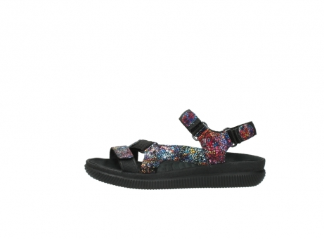wolky sandalen 00710 energy lady 40970 multi black leather_1