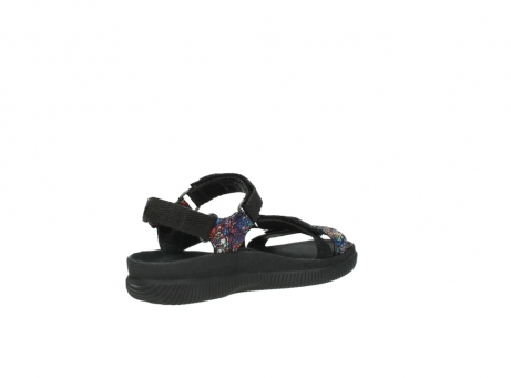 wolky sandalen 00710 energy lady 40970 multi black leather_10