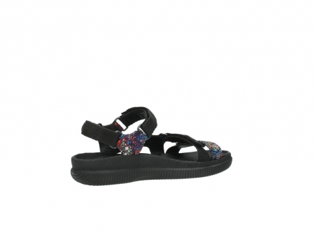 wolky sandalen 00710 energy lady 40970 multi black leather_11