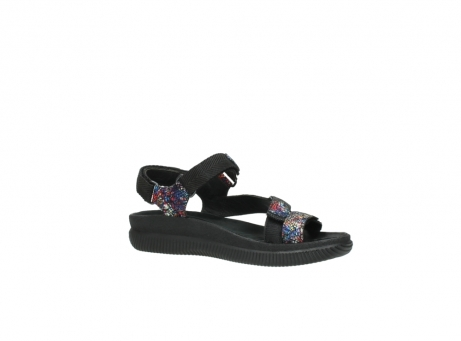 wolky sandalen 00710 energy lady 40970 multi black leather_15