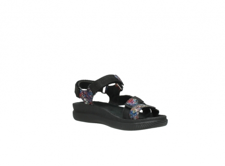 wolky sandalen 00710 energy lady 40970 multi black leather_16