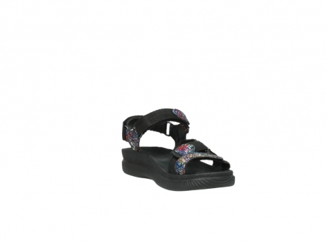 wolky sandalen 00710 energy lady 40970 multi black leather_17