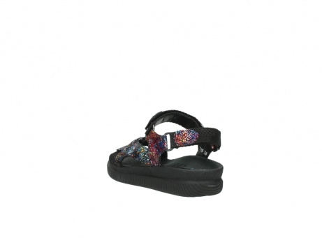 wolky sandalen 00710 energy lady 40970 multi black leather_5