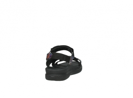 wolky sandalen 00710 energy lady 40970 multi black leather_8